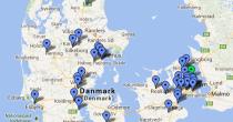 Medlemmer af Dansk Træforening ligger spredt i hele landet